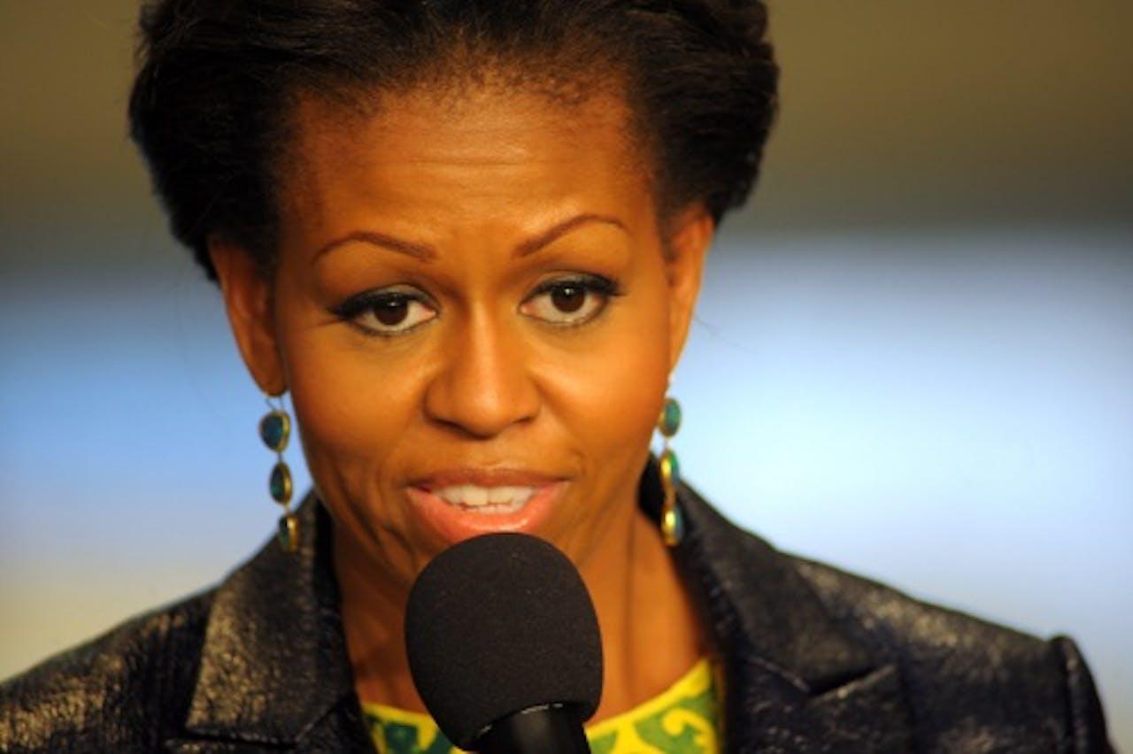 Archiefbeeld van Michelle Obama. EPA