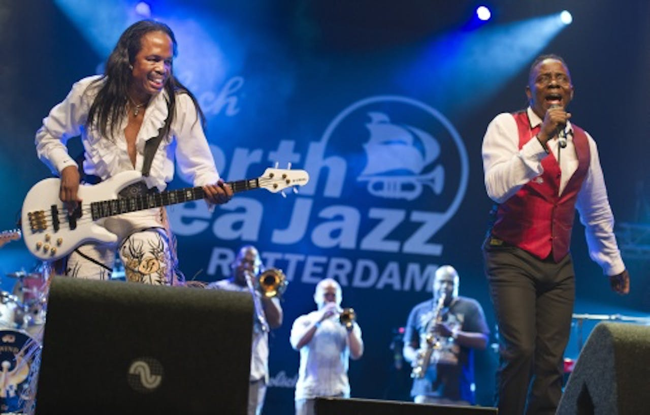 Archiefbeeld Earth, Wind and Fire. ANP