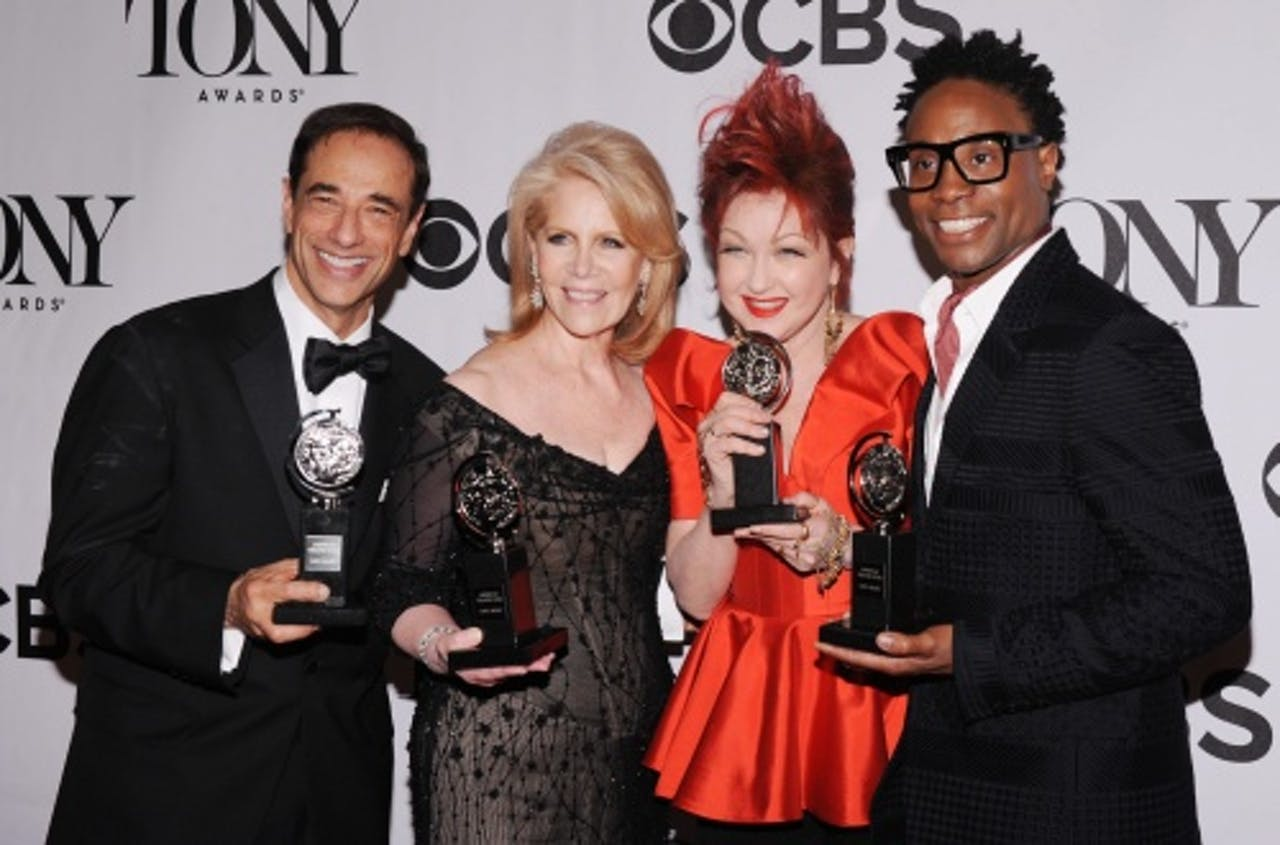 Cast Kinky Boots met Tony Awards. EPA