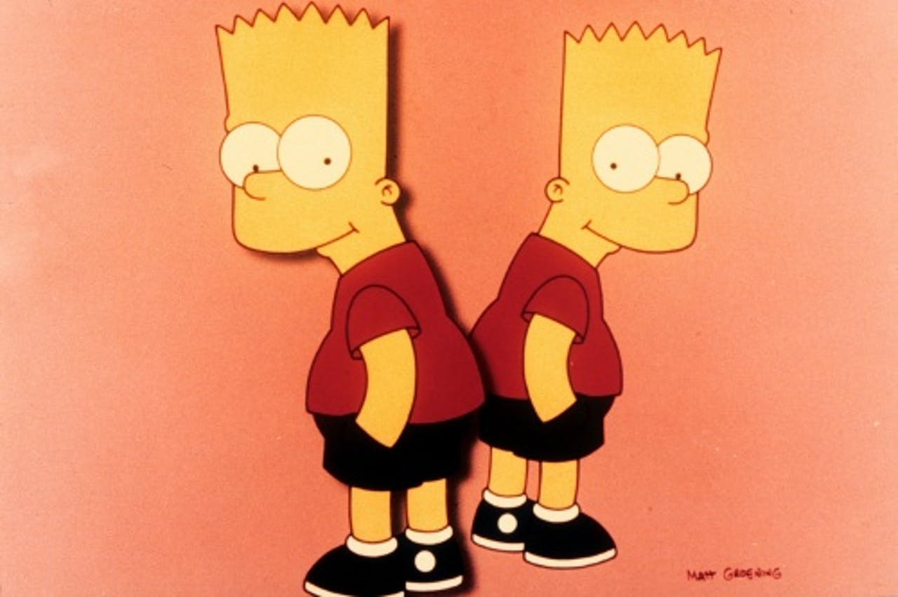Bart Simpson. ANP KIPPA