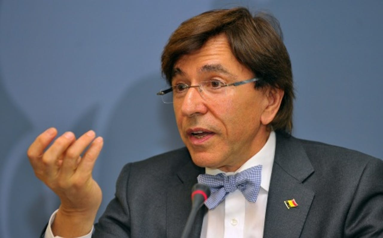Elio Di Rupo. EPA