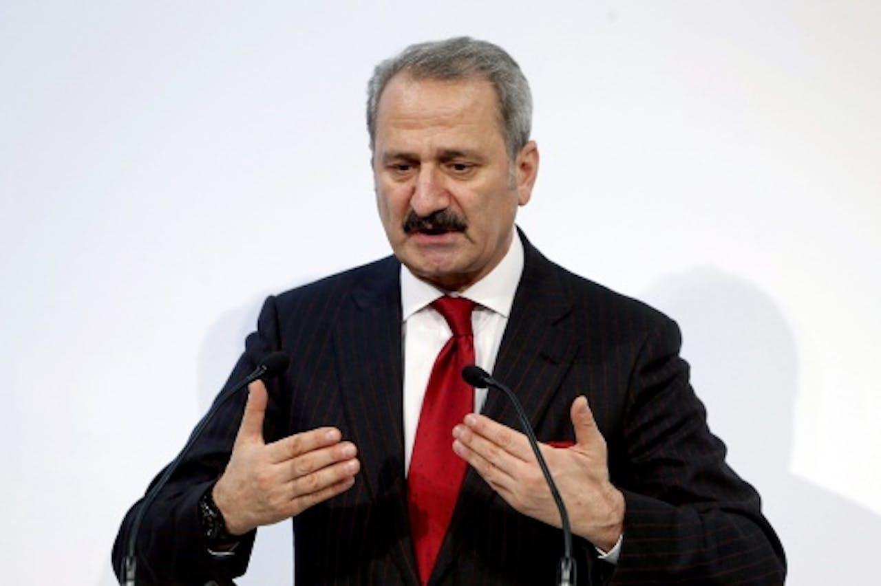 Zafer Caglayan. EPA