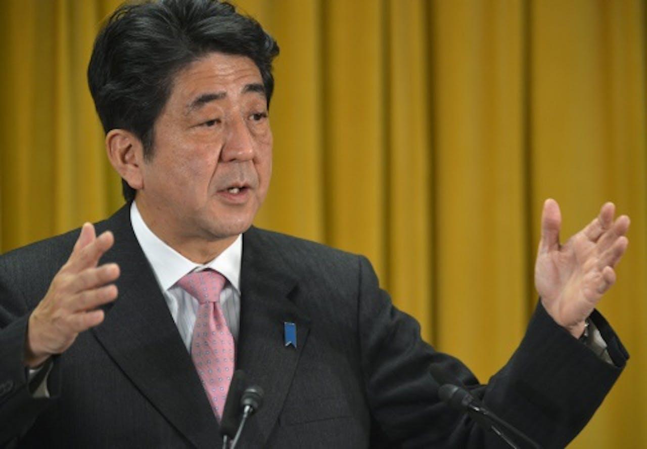 Shinzo Abe. EPA