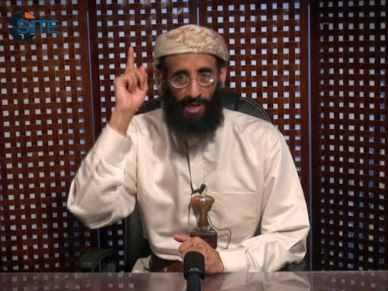 (Archieffoto 30-9-2011, Anwar al-Awlaki). EPA
