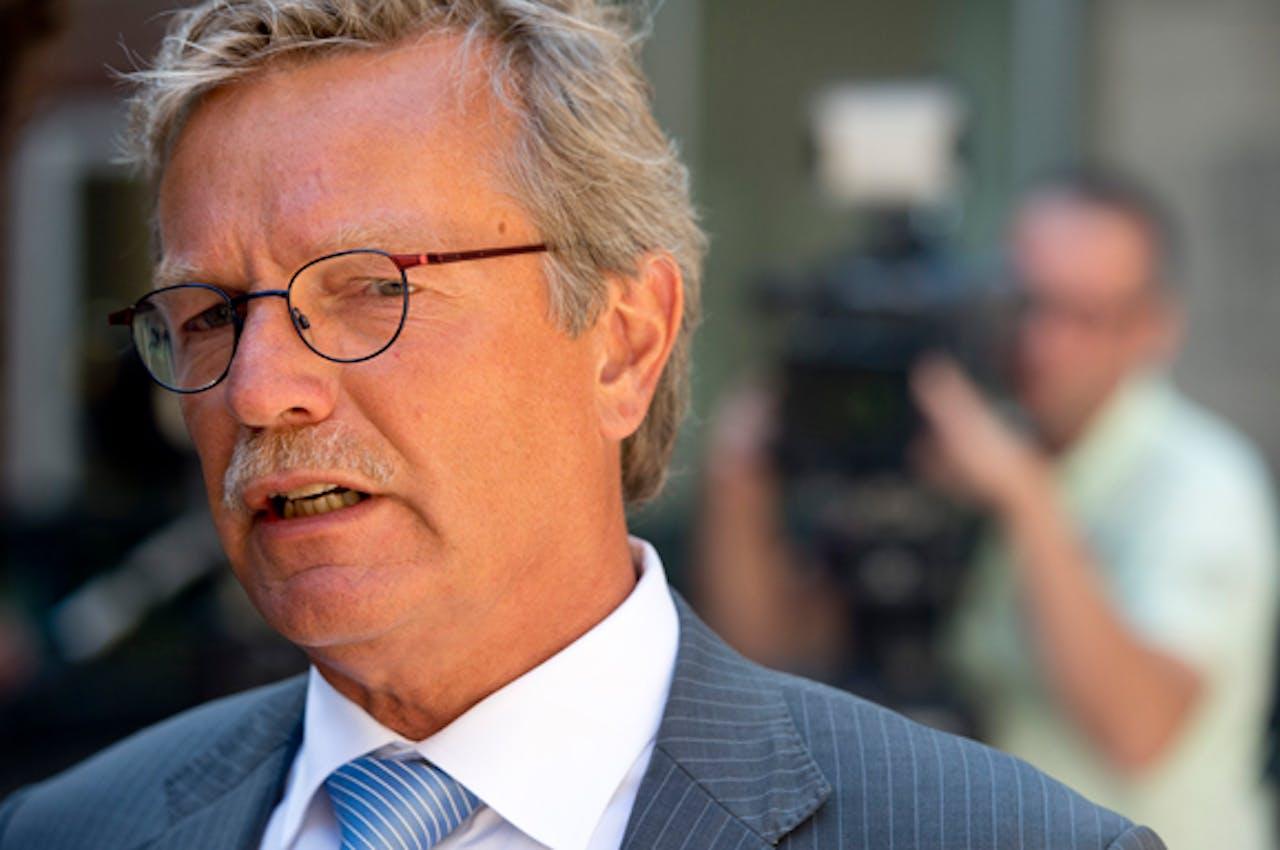 Burgemeester Aucke van der Werff van de gemeente Noordoostpolder