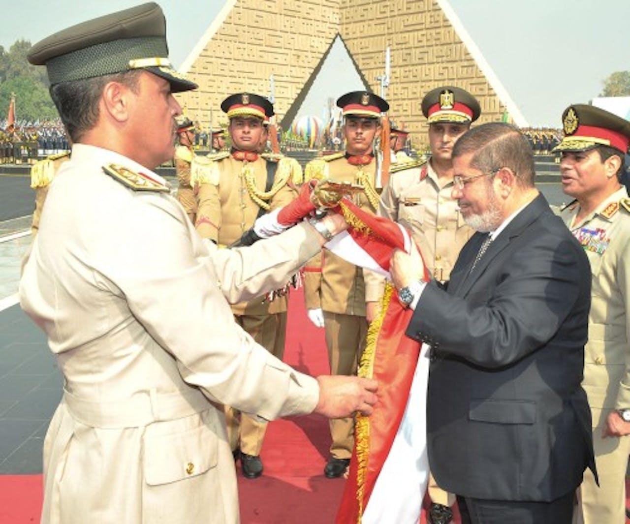 Abdel Fattah al-Sisi (R). EPA