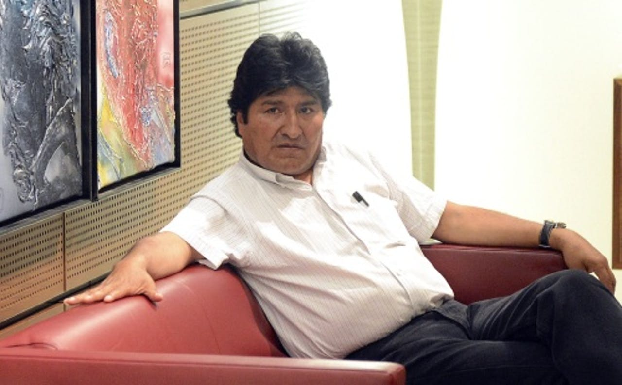 Evo Morales. EPA