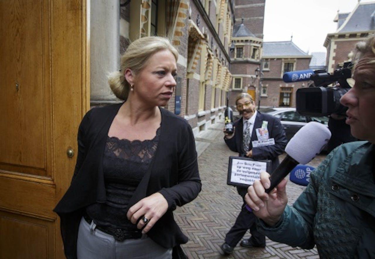 Minister Jeanine Hennis van Defensie. ANP