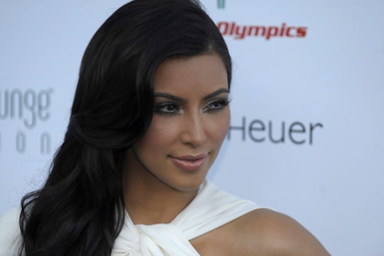 Kim Kardashian. EPA