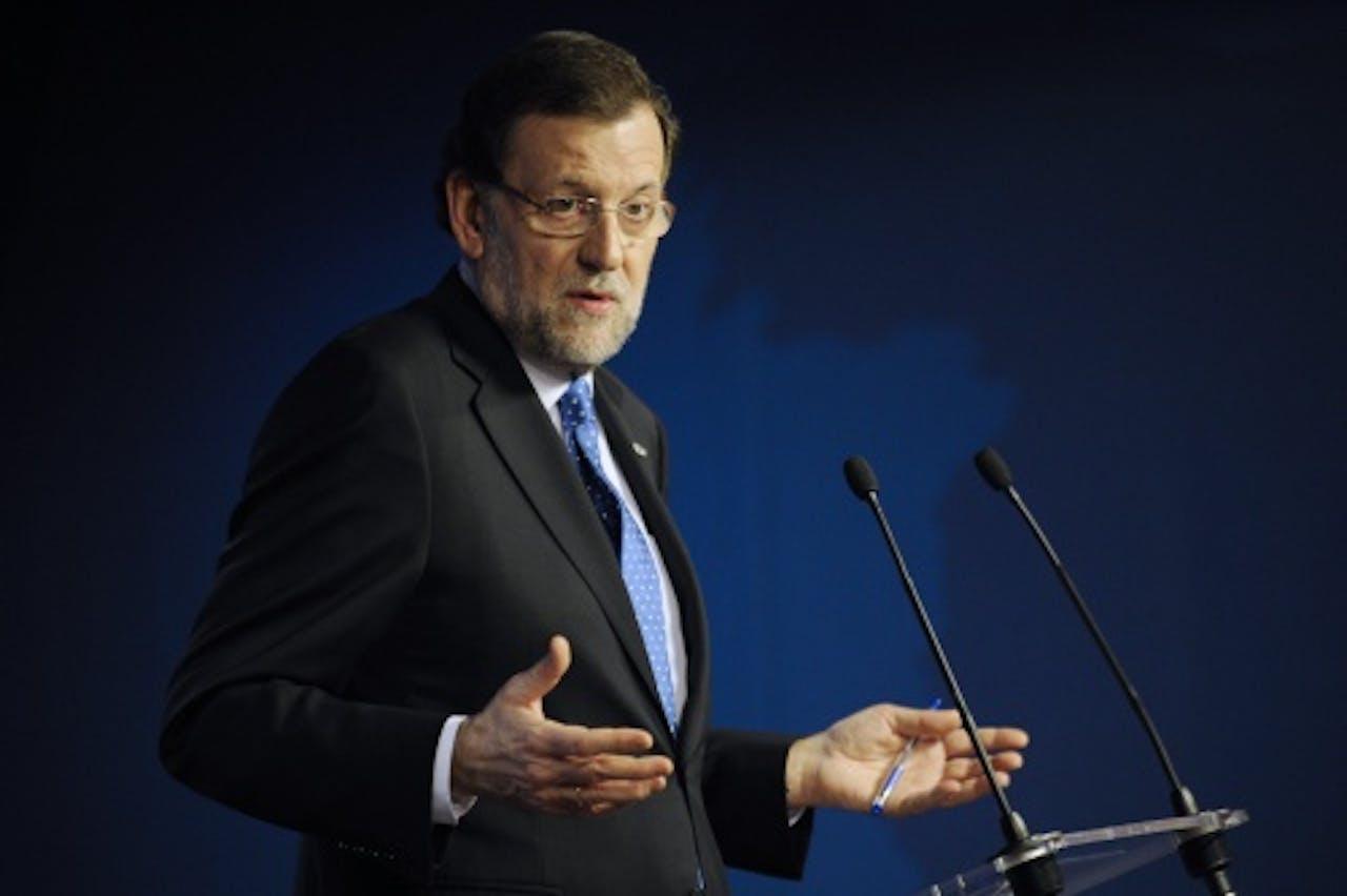 De Spaanse premier Mariano Rajoy. EPA