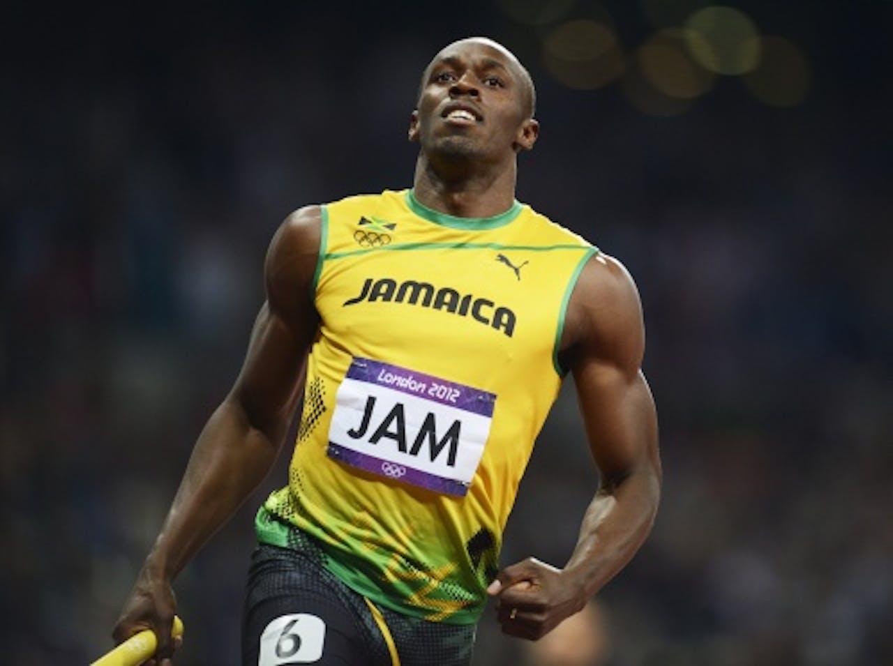 Archiefbeeld Usain Bolt. EPA