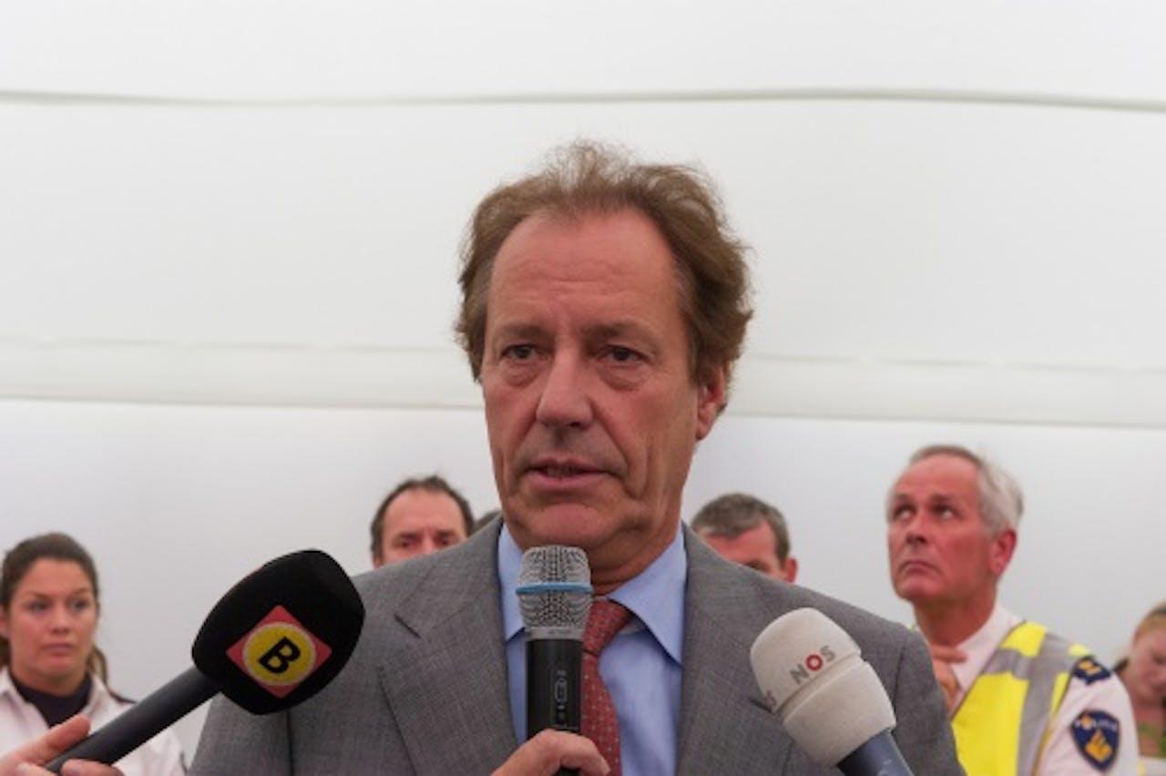 Burgemeester Rob van Gijzel. ANP