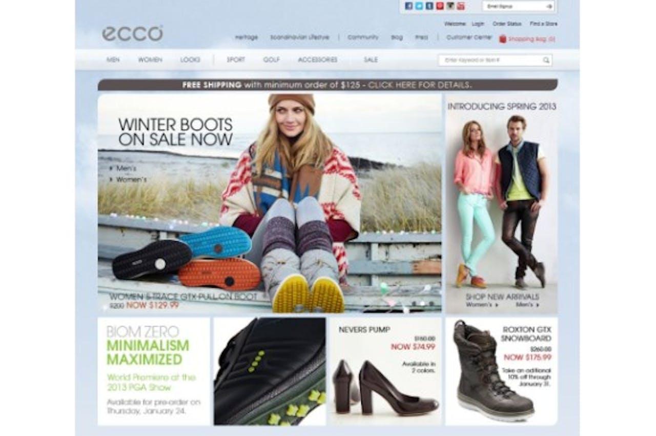 ECCO zet in op consistente klantervaring via alle kanalen met Demandware