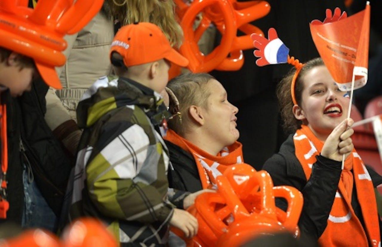 Archiefbeeld van fans van Oranje in de ArenA. ANP