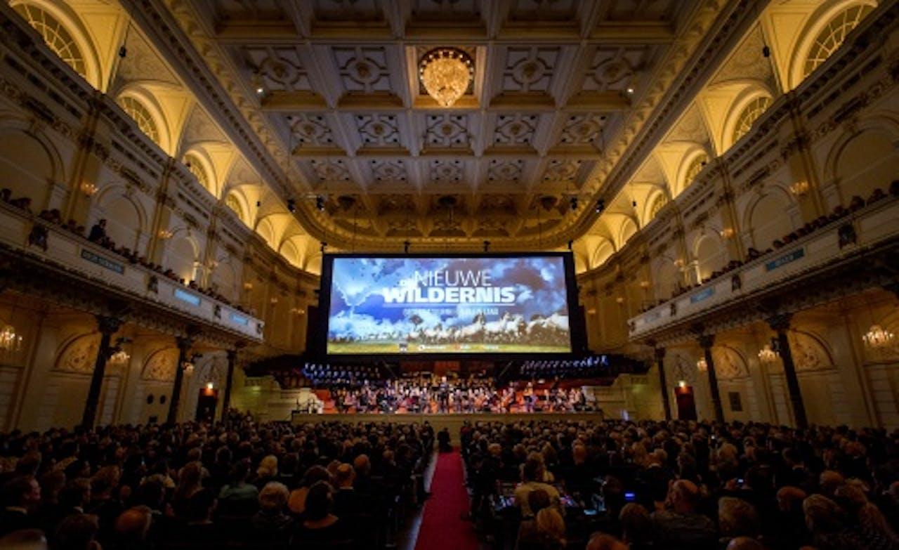 Première van De nieuwe wildernis in Het Concertgebouw. ANP Kippa