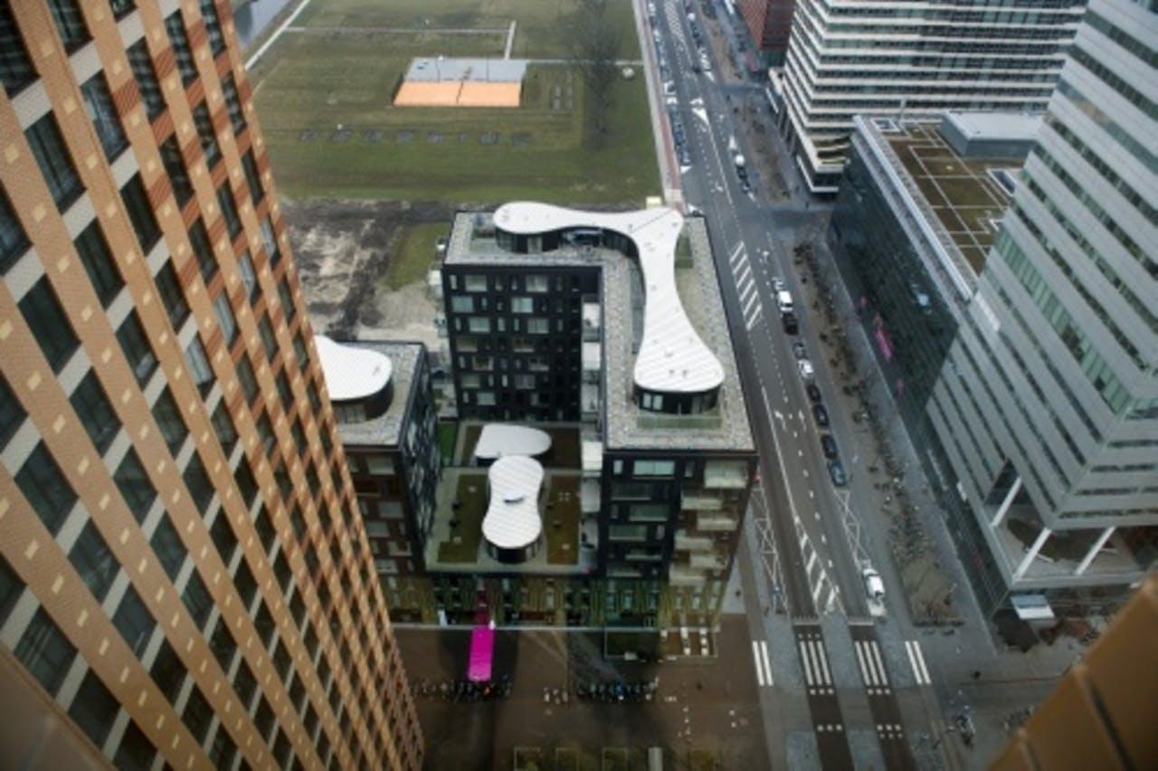 Kantoren op de Zuidas in Amsterdam. ANP