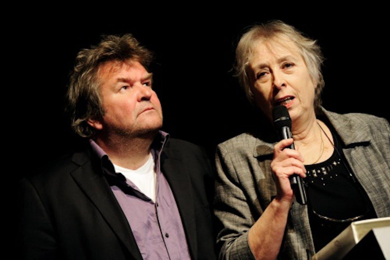 Marleen Gorris (R) in 2011. ANP Kippa