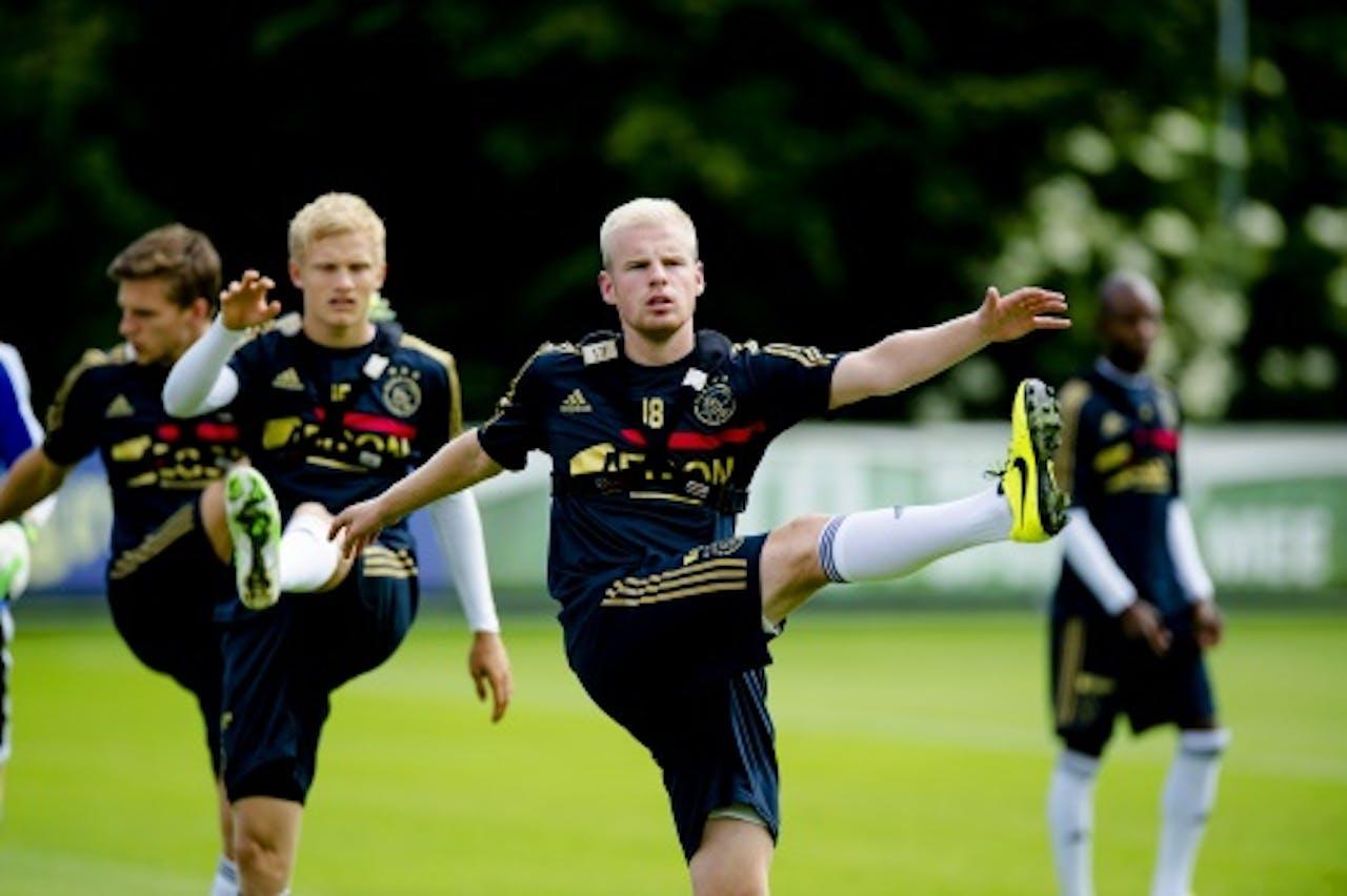 Davy Klaassen en Nicolai Boilesen (L). ANP