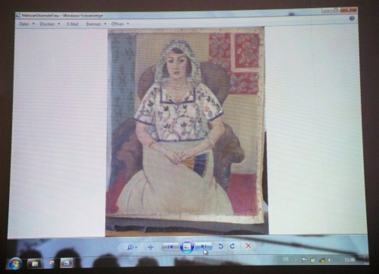 Werk van Matisse dat in München werd gevonden. EPA