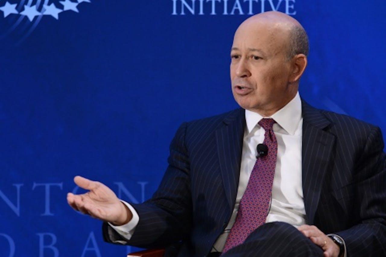 Goldman Sachs-topman Lloyd Blankfein. EPA