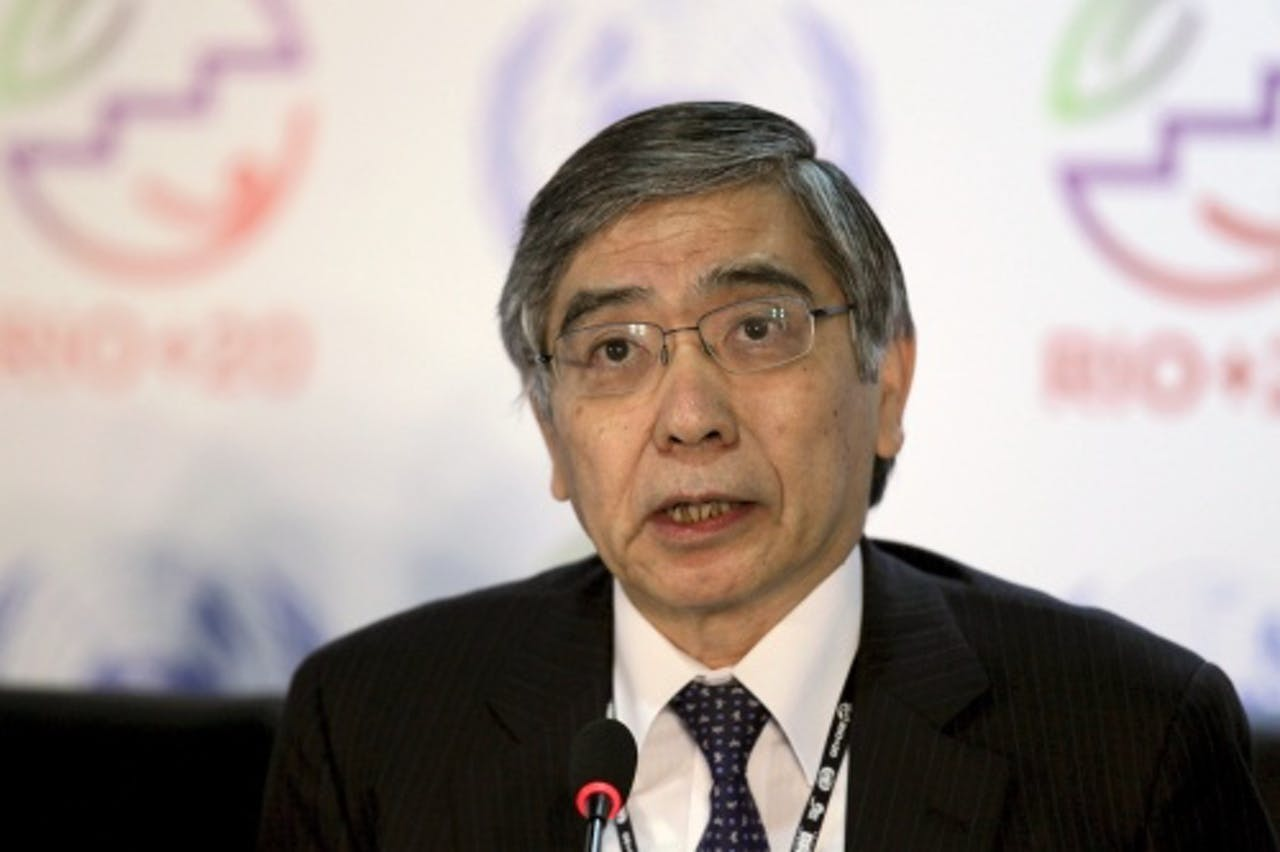 Haruhiko Kuroda. EPA