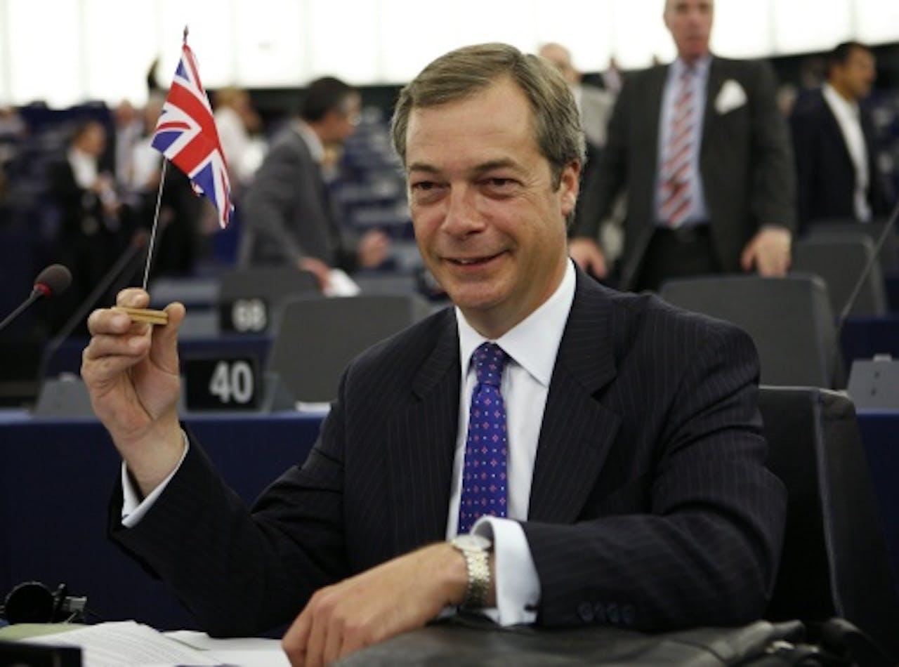 Nigel Farage van UKIP. EPA