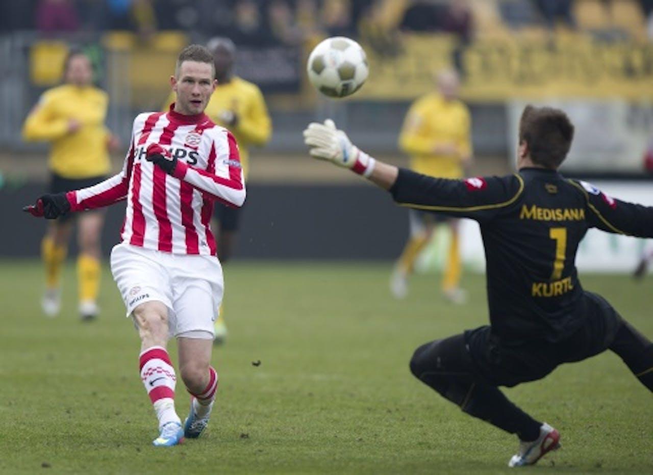 PSV'er Tim Matavz (L). ANP