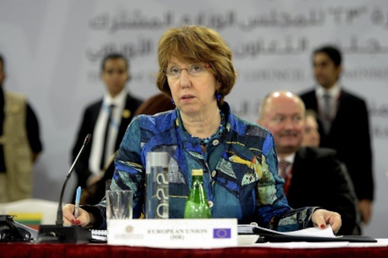 EU-buitenlandcoördinator Catherine Ashton op archief, EPA