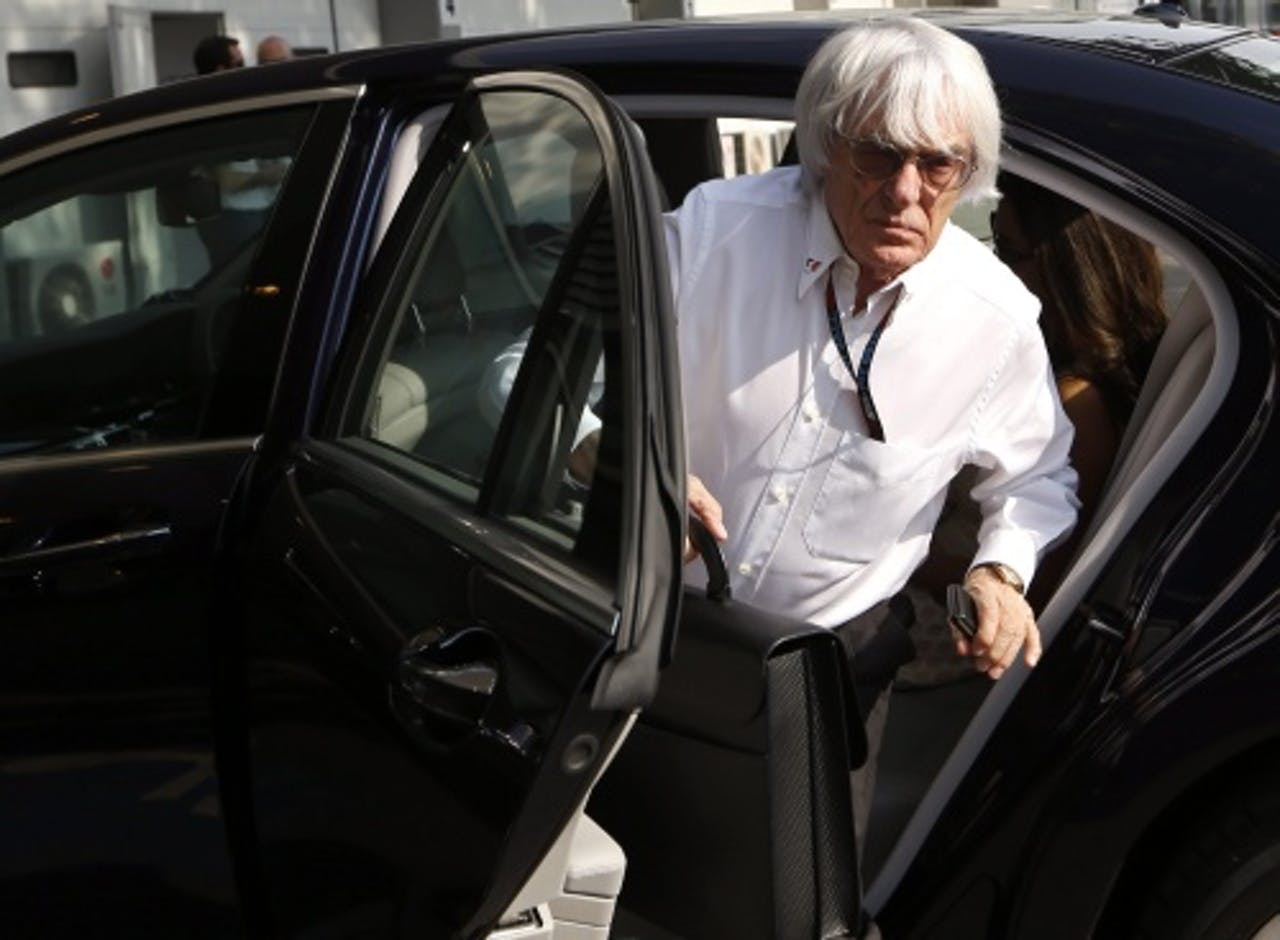 Bernie Ecclestone. EPA