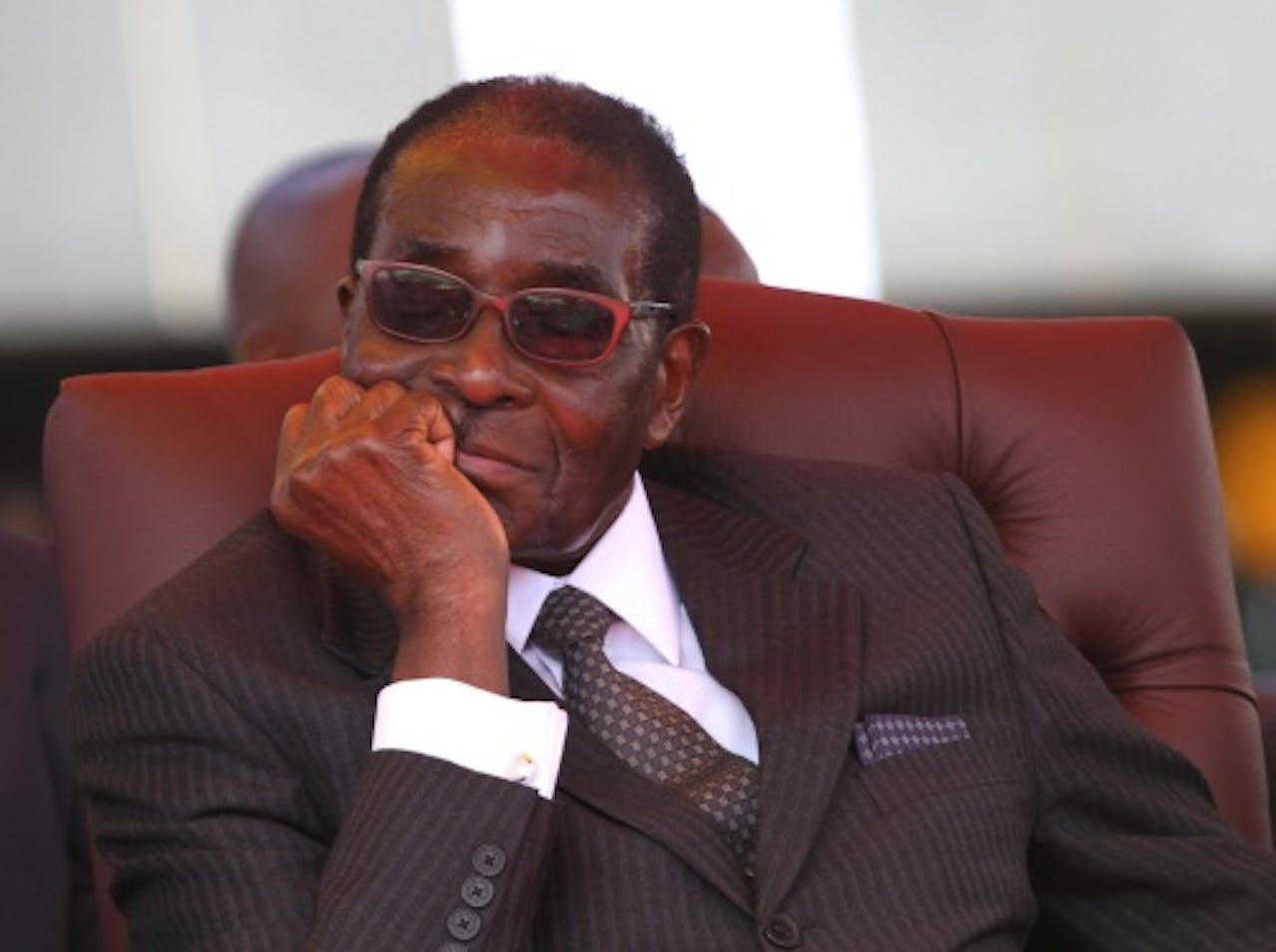 President Robert Mugabe van Zimbabwe op archief, EPA