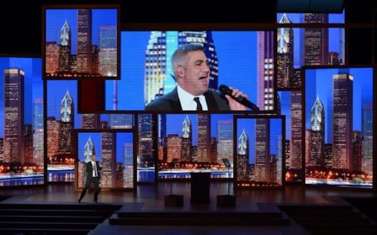 Winnaar van het vijfde seizoen van American Idol, Taylor Hicks. EPA