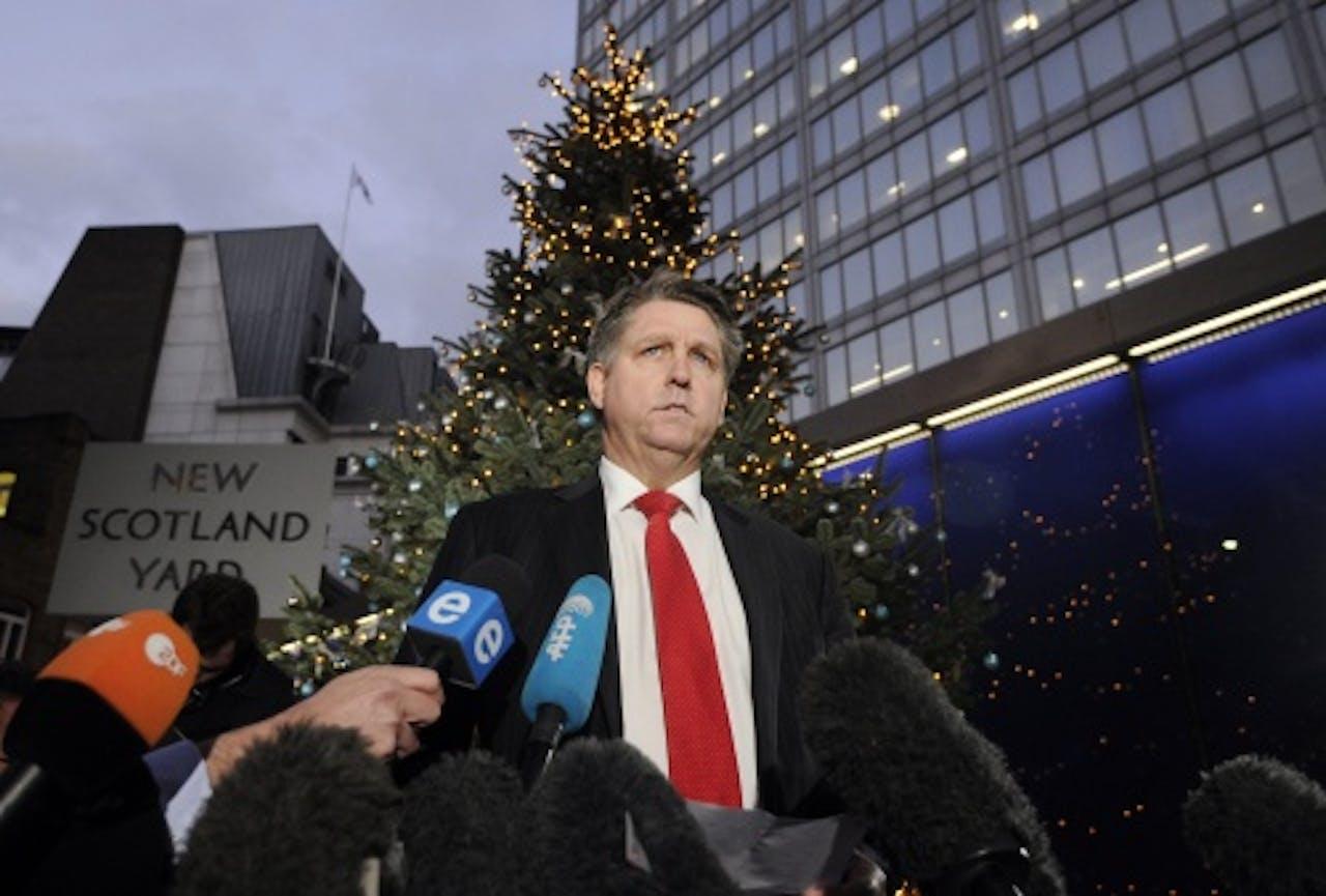 Kevin Hyland van New Scotland Yard. EPA