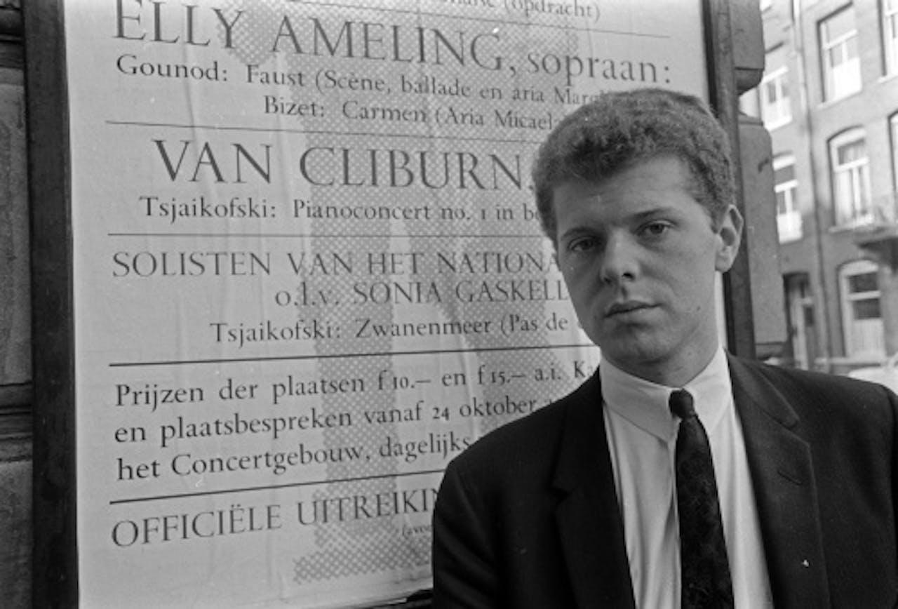Van Cliburn in 1966. ANP