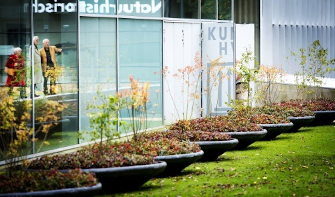 Foto van de buitenkant van de Kunsthal. ANP