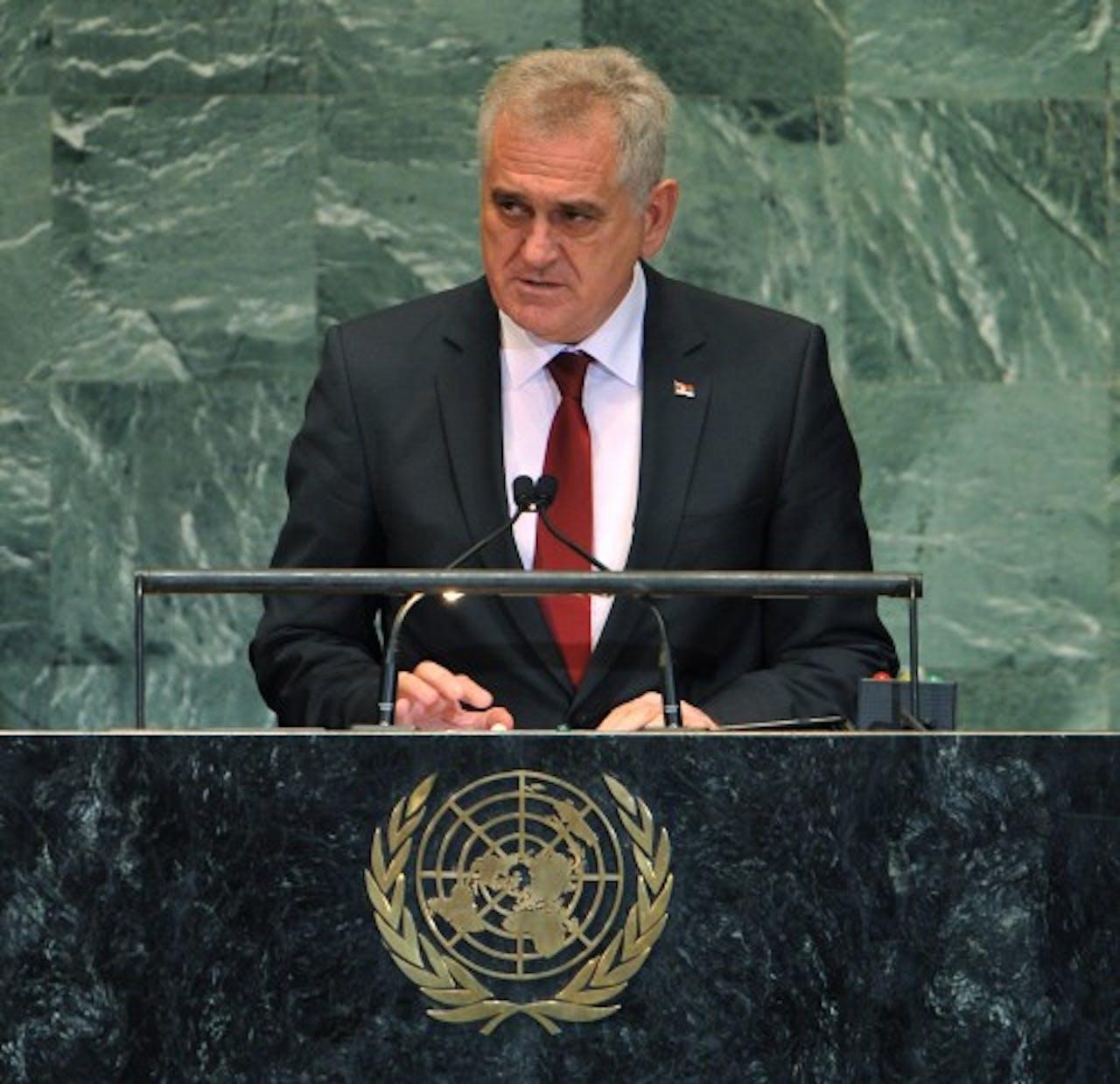 Tomislav Nikolic. EPA
