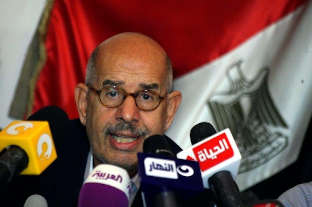Archiefbeeld Mohamed ElBaradei. EPA
