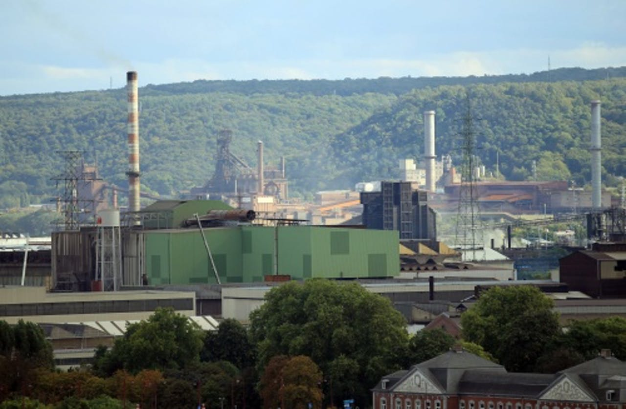Fabriek in Luik. EPA
