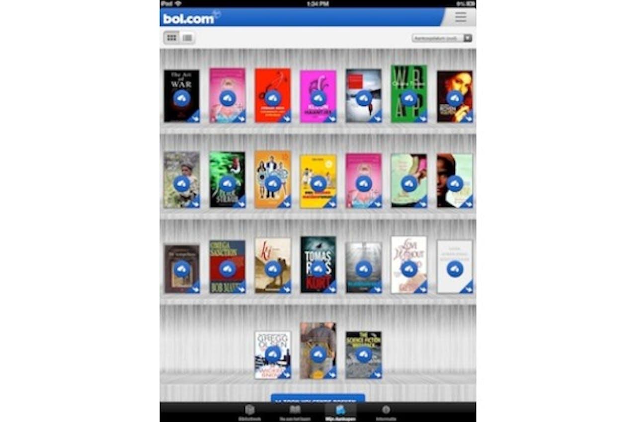 Nieuwe app digitaal lezen van bol.com moet betere leeservaring bieden