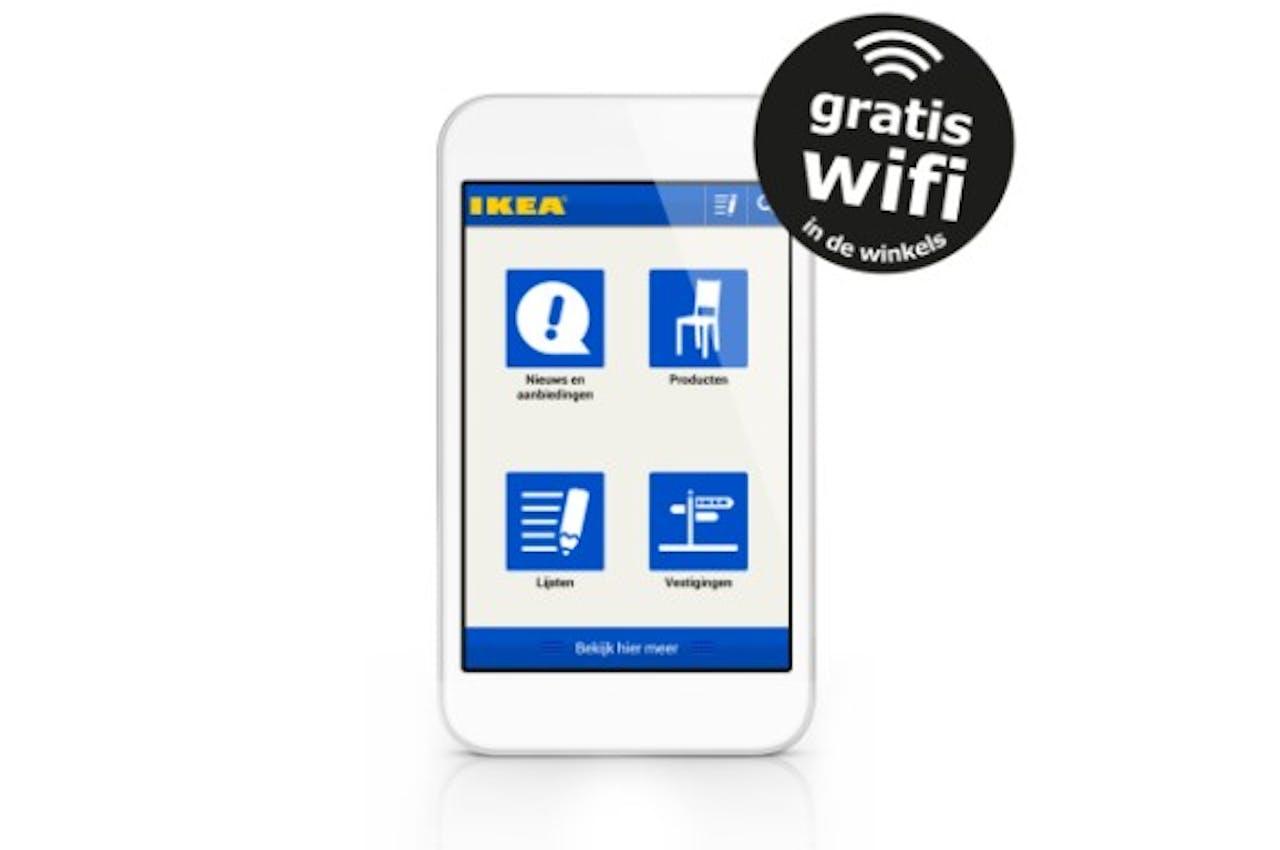 IKEA komt met mobiele website en app