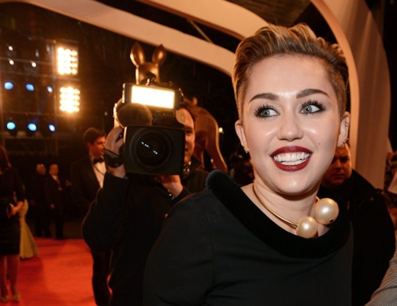 Miley Cyrus. EPA