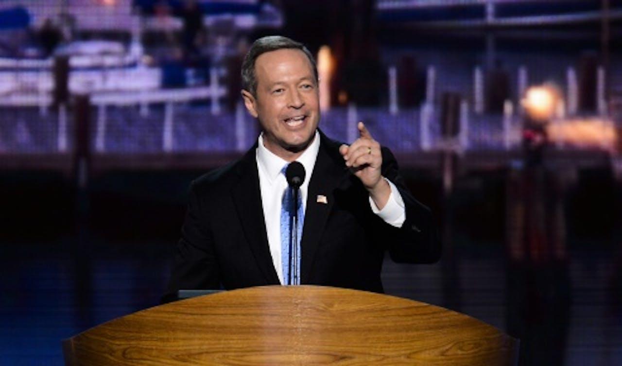 Martin O'Malley. EPA