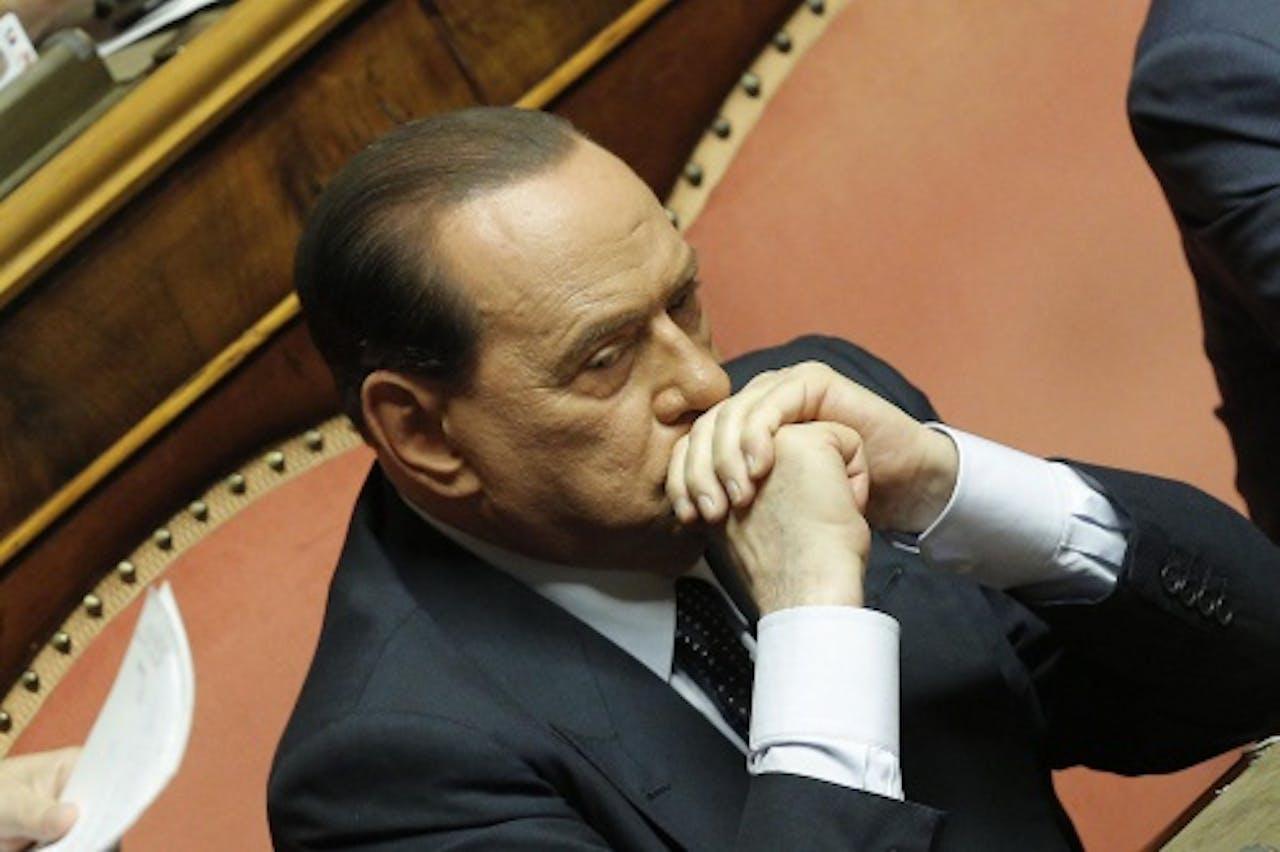 Silvio Berlusconi. EPA