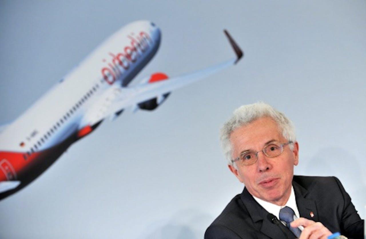 Wolfgang Prock-Schauer (CEO) Air Berlin. EPA