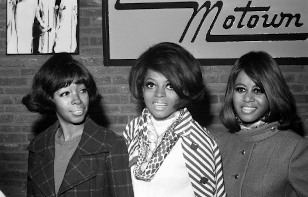 Diana Ross en The Supremes. ANP