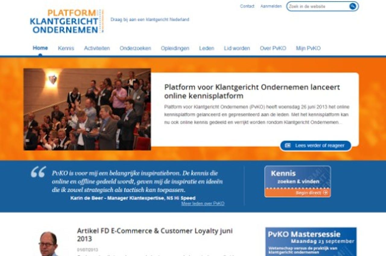 Nieuwe website PvKO legt focus op online kennisdeling
