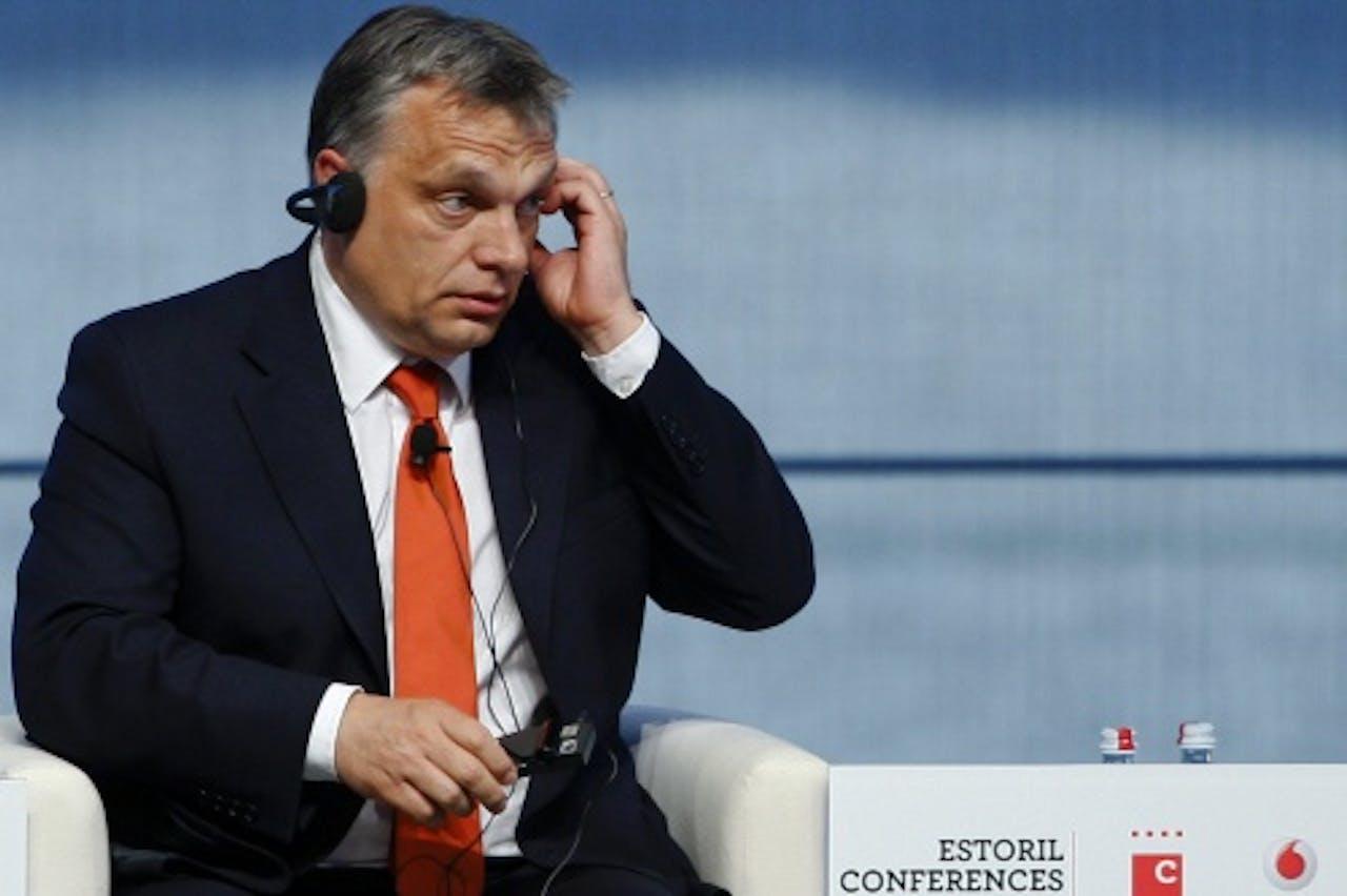 Premier Viktor Orbán van Hongarije. EPA