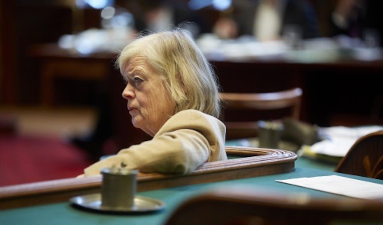 VVD-senator Heleen Dupuis neigde eerder niet in te stemmen met het afschaffen van het verbod. ANP