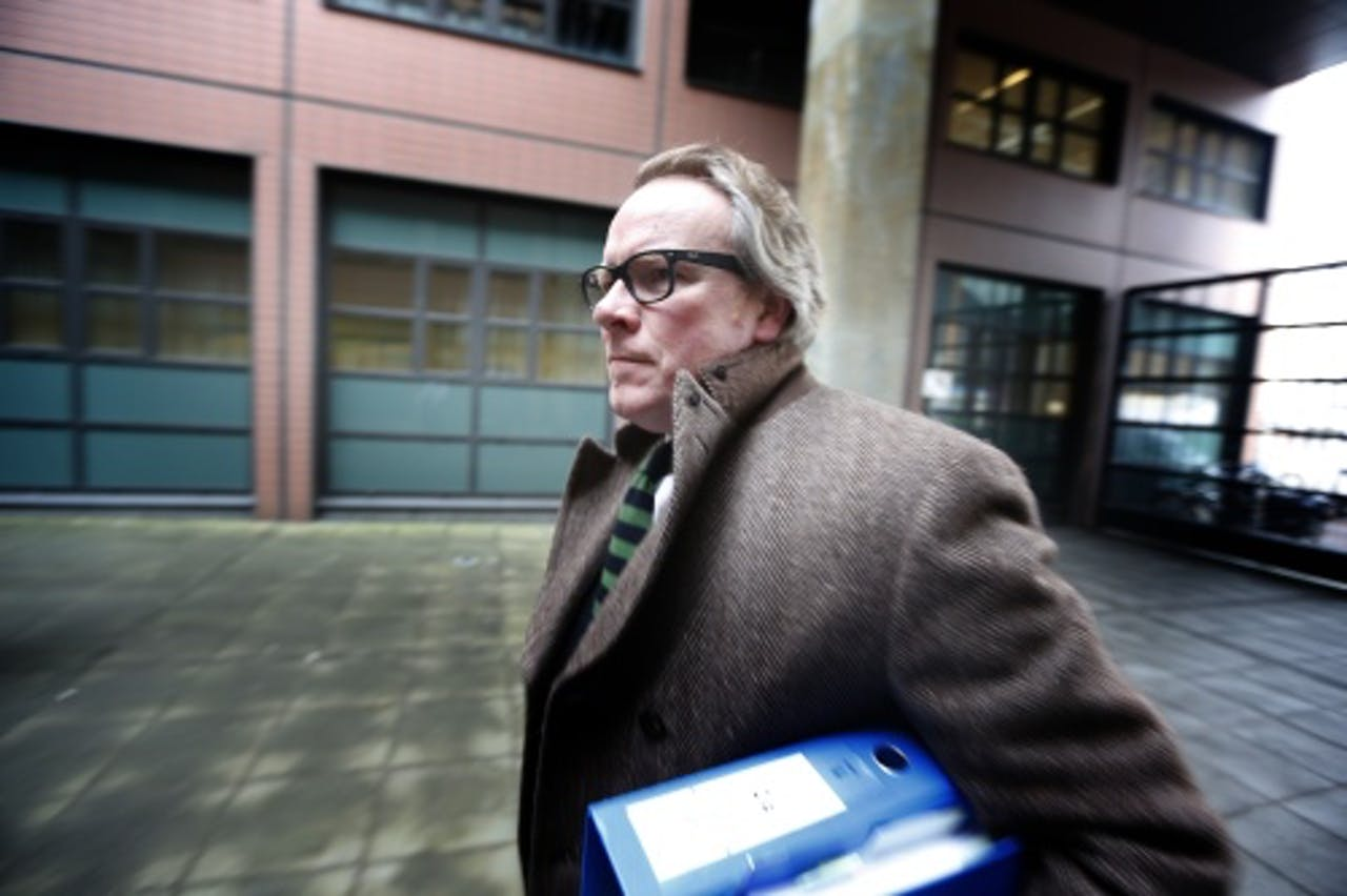 Advocaat Jan Vlug. ANP