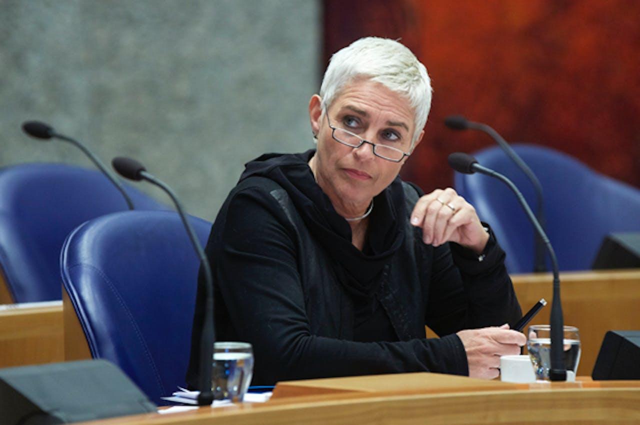 Staatssecretaris Wilma Mansveld van Infrastructuur en Milieu
