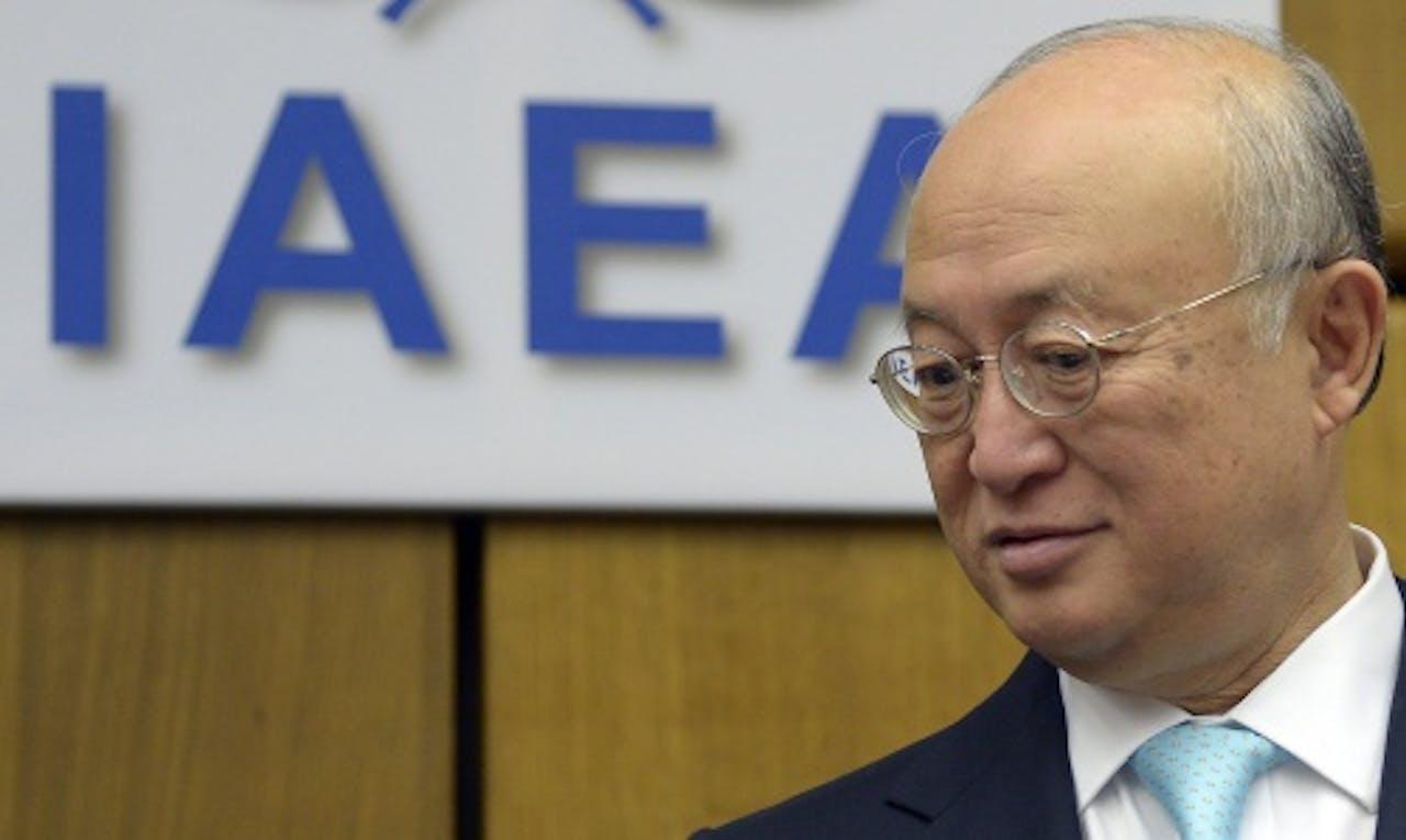 Yukiya Amano. EPA